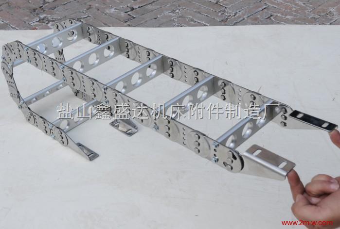 专业生产浙江机床专用TL75型钢制拖链价格