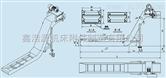 LP系列链板式排屑器 浙江刮板式排屑装置图