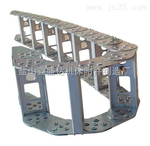 厂专业生产机床专用TL45钢制拖链