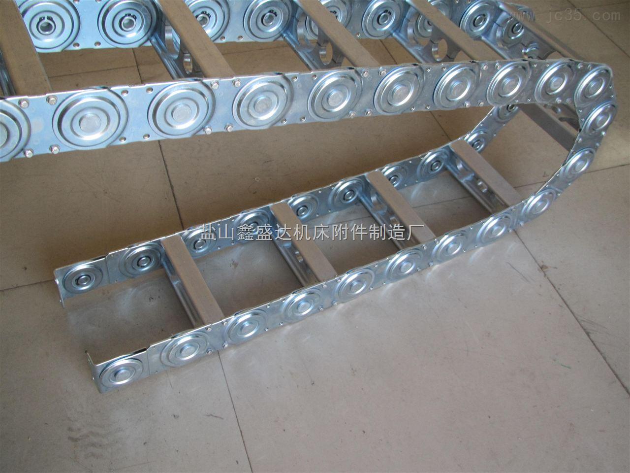 厂专业生产机床专用TLG125钢制机床拖链