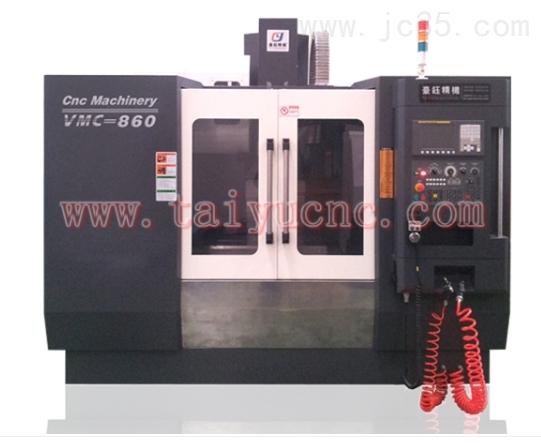 VMC-850硬轨加工中心产品出厂百分百全检