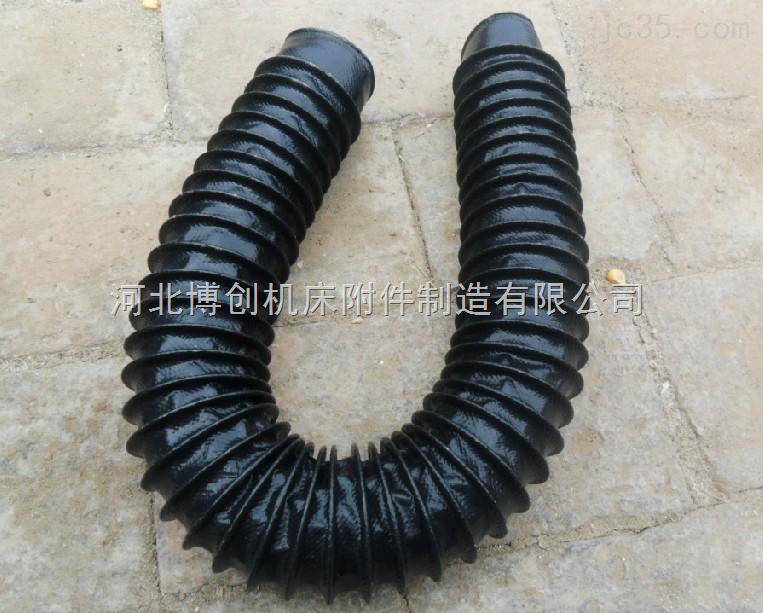 伸缩式橡胶护罩,橡胶伸缩防护罩
