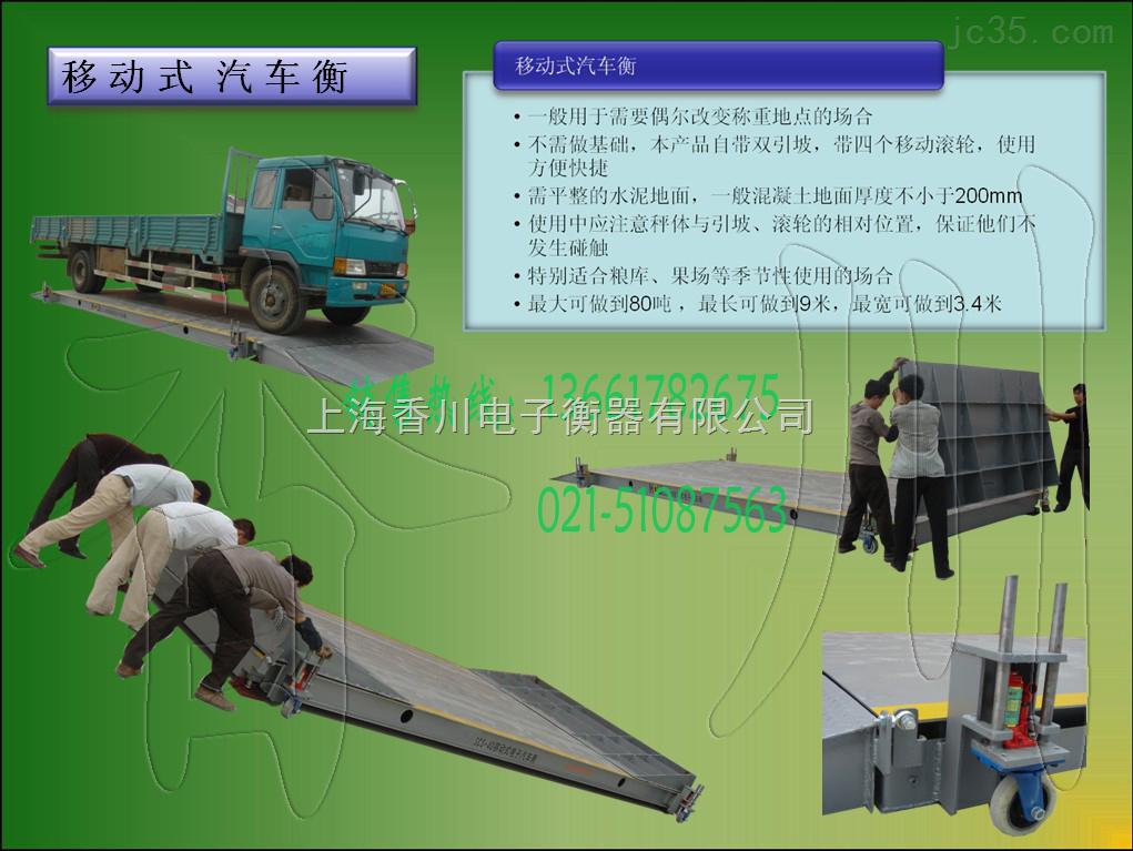 移动式汽车衡(便携、轻便式地磅)