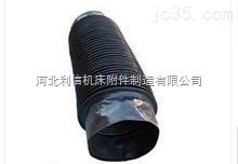 防油伸缩阻燃圆形丝杆保护套 伸缩轴类油缸保护套