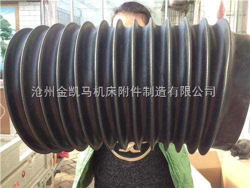 赤峰螺旋伸缩丝杠防护套、沈阳机床厂专用耐高温油缸圆形防尘罩