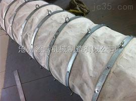 搅拌机耐磨损水泥输送帆布伸缩布袋