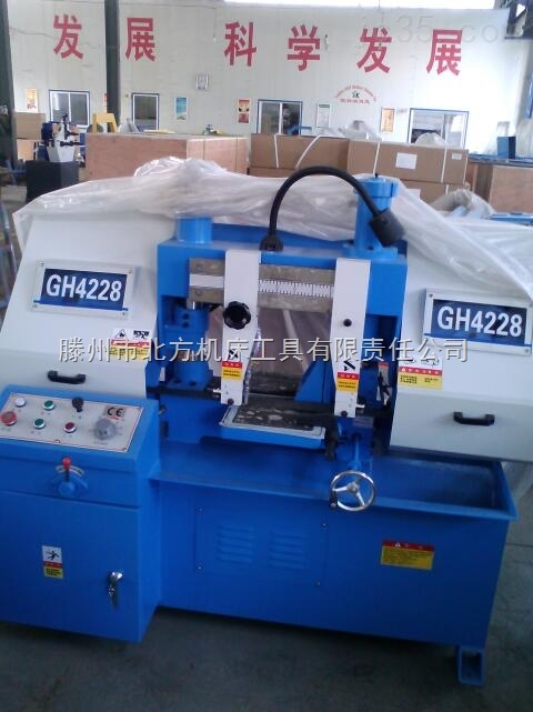 GH系列-液压龙门式带锯床