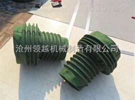水泥槽车输送筒输送软连接  帆布伸缩布袋