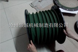 石材机械耐腐蚀抗老化软连接  伸缩防尘罩