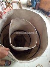 承重型耐磨损伸缩式帆布风机通风软连接
