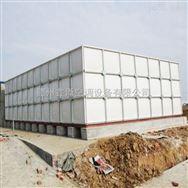 玻璃钢水箱,模压水箱,楼顶消防环保组装式储水箱