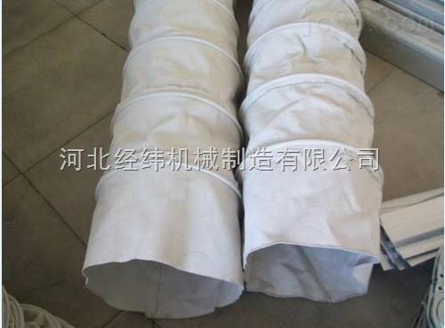 工业粮食输送耐高温帆布软连接