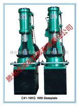 润发机械C41-16kg单体带底座打铁空气锤 小型空气锤厂家批发