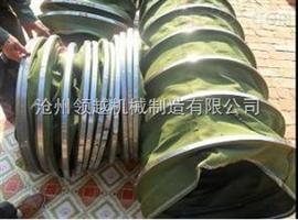 熟料散装机卸料口帆布输送除尘布袋