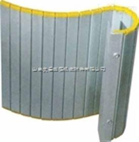 规格齐全机床铝合金卷帘防护罩