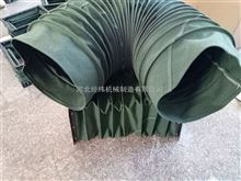 供應卡箍式伸縮軟連接 圓形通風風道口帆布軟連接