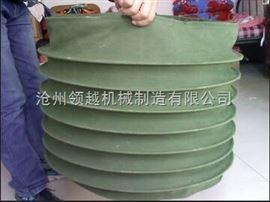 卸料口专用耐酸碱帆布伸缩软连接厂家