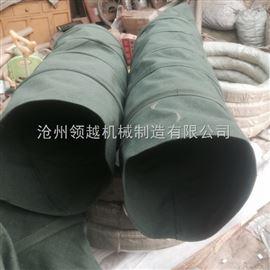 水泥厂耐腐蚀帆布散装伸缩布袋规格