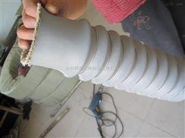 防火通风硅钛伸缩软连接厂家定做
