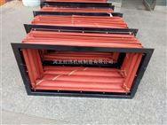 红硅胶防腐蚀风机软连接