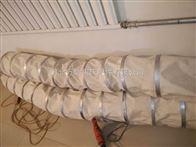耐腐蚀耐磨帆布颗粒粉尘输送软连接厂家