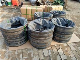 粉尘卸料口耐磨帆布伸缩布袋厂家供应