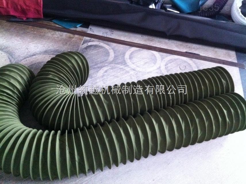 加厚耐磨 帆布伸缩布袋用于水泥输送