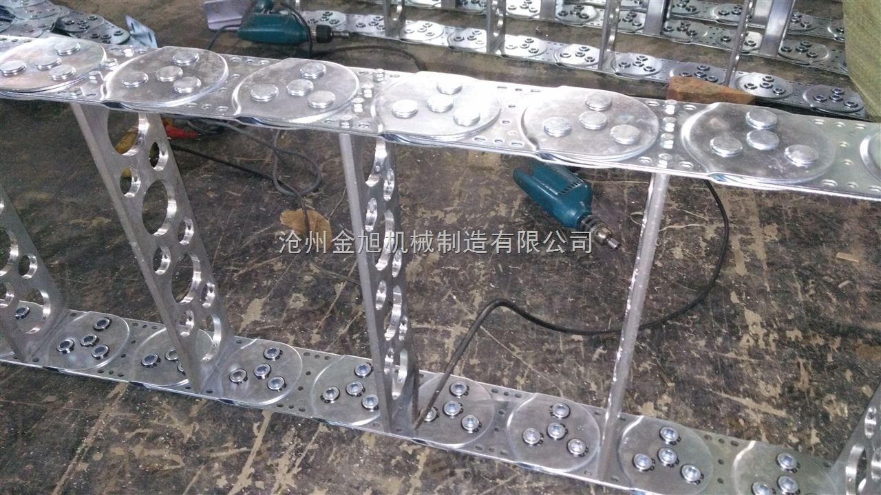 怡合达侧喷钢制拖链