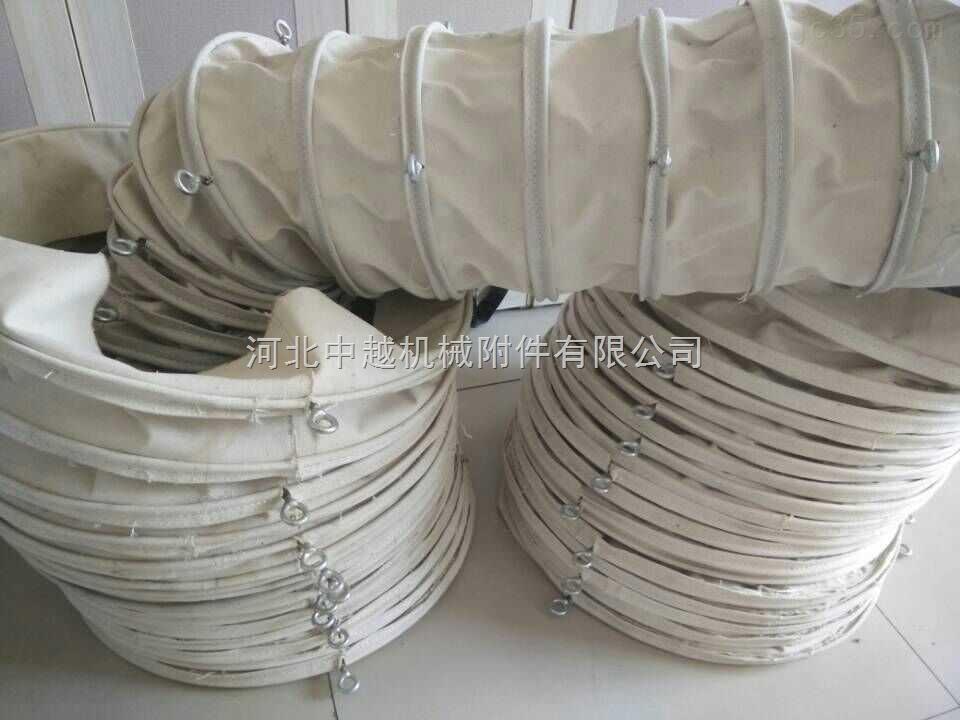 扁铁加固吊环式水泥散装伸缩布袋厂家