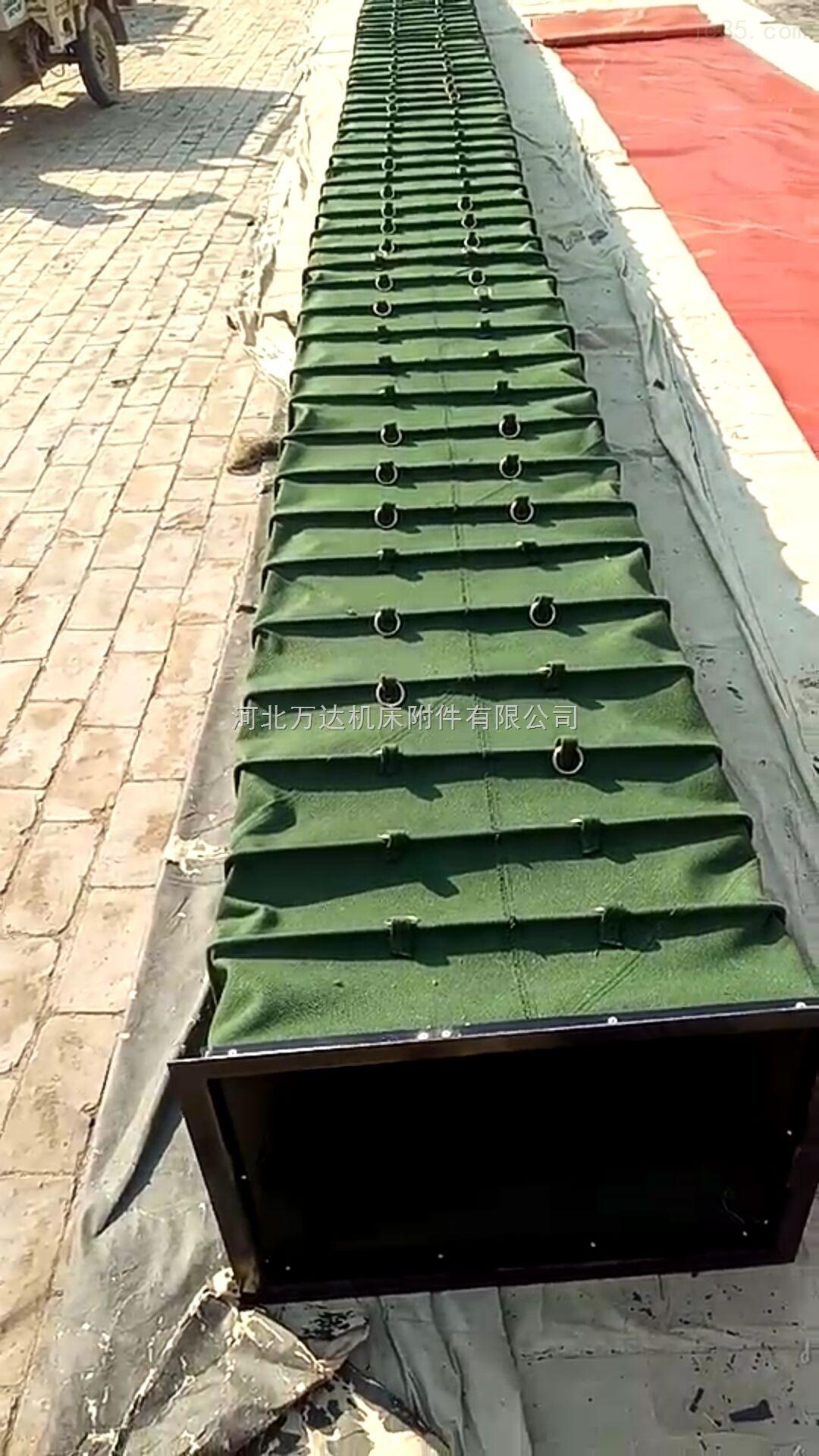 矩形颗粒粉尘帆布输送软连接厂家