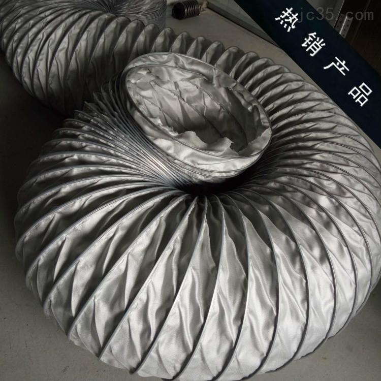 螺旋硅胶通风软管耐温性能好