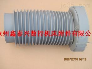 金属法兰风道口软连接防护罩