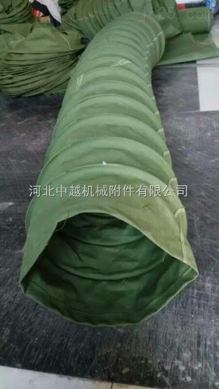 耐高温耐磨损帆布风机软连接厂家定做
