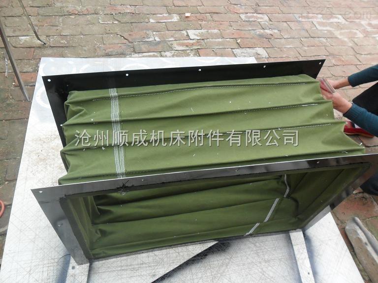 顺成厂家直销通风软连接、帆布软连接、耐高温软连接