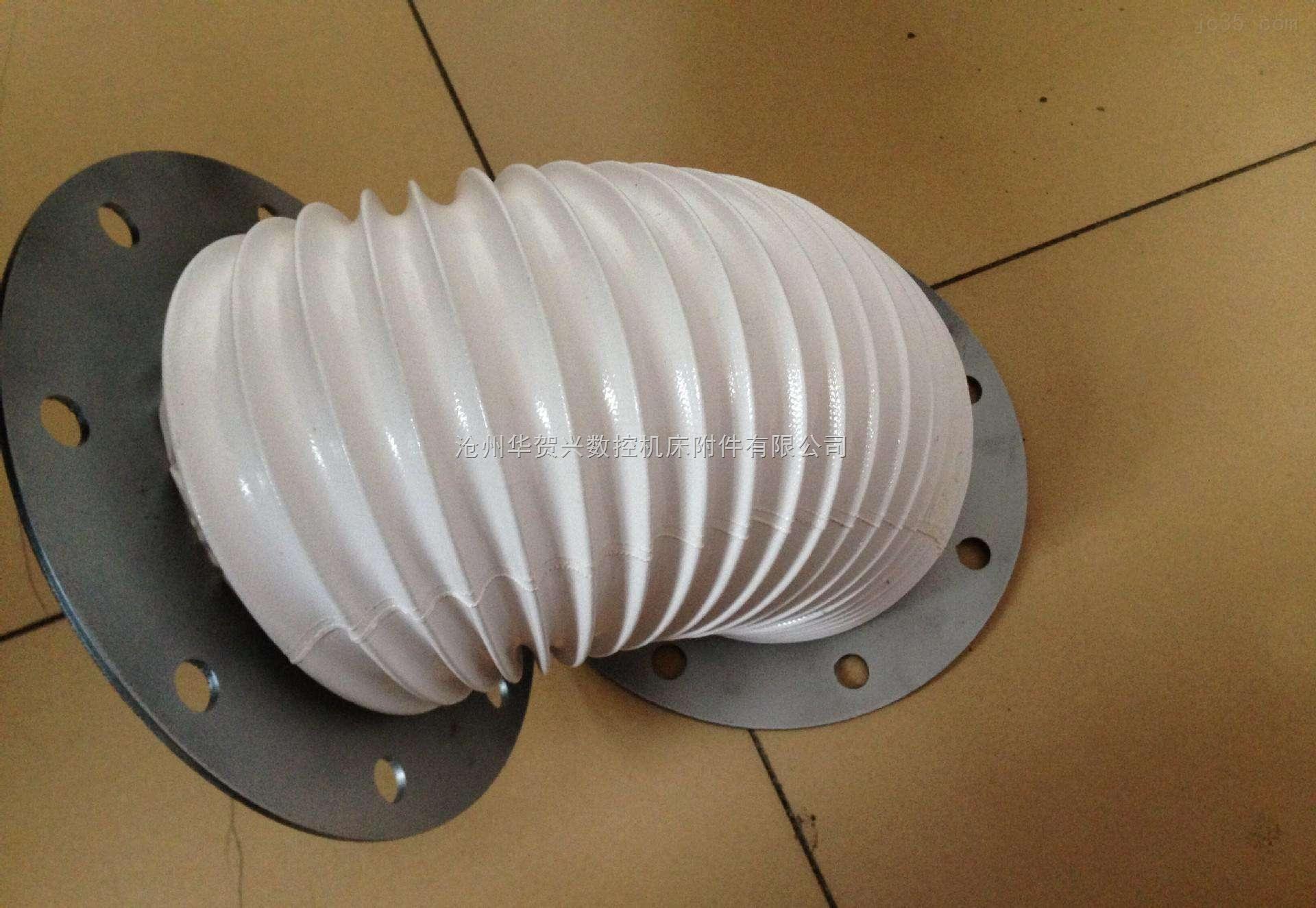 光杠伸缩式防尘罩