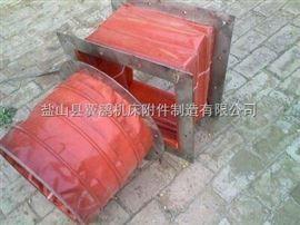 200*300红色硅胶布耐温通风口软连接