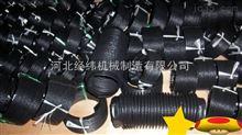 按客戶要求大量供應自動伸縮絲杠防護罩  圓形縫制伸縮防塵套