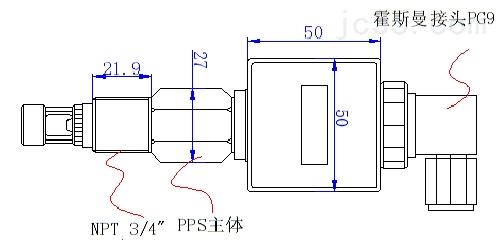 印刷厂排污口电导率在线监测传感器
