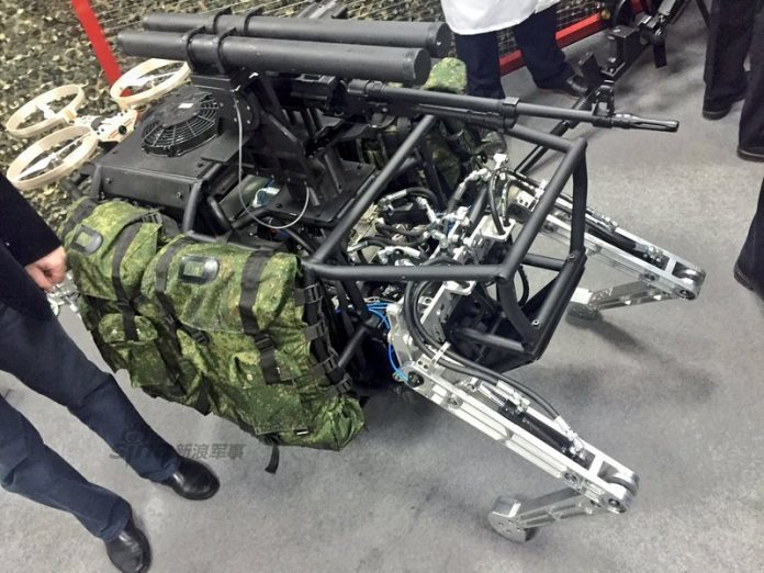 中国大狗机器人大秀技能:竞速越野妥妥齐活儿