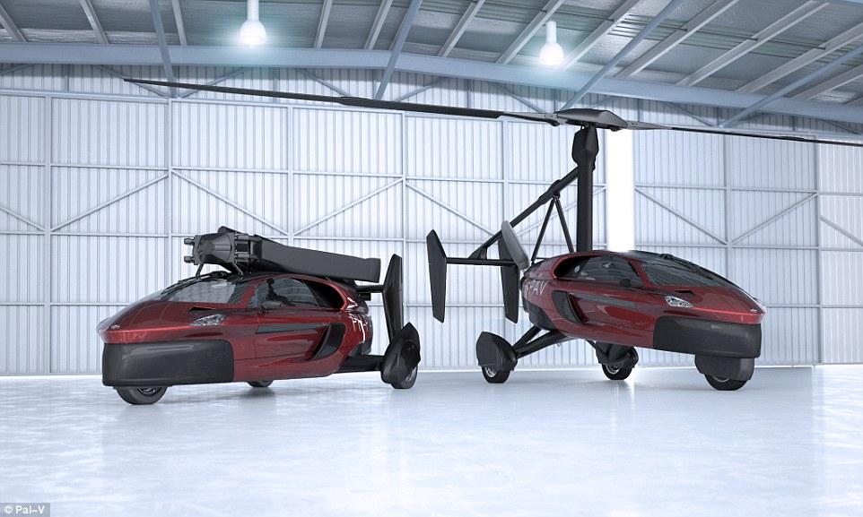 车主福音来啦 两座型陆空两栖飞行车即将面世!