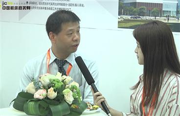 温州机械展上机床商务网采访武汉楚天工业