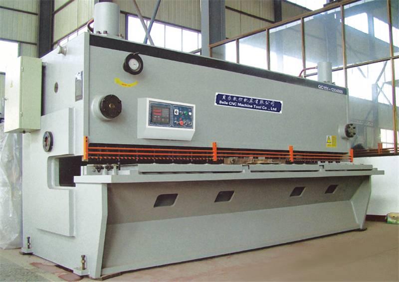 小型闸式剪板机 微型数控液压闸式剪板机原理图片