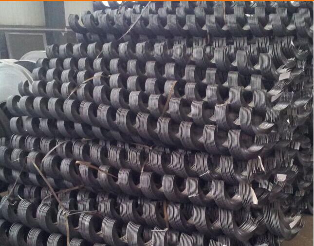 各种规格按需定做-图纸不锈钢基础叶片螺旋叶片碳钢蛟龙图片